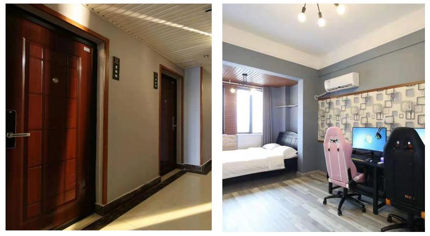项目案例-长沙市电竞酒店NB联网门锁